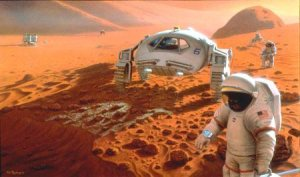 Misión tripulada a Marte