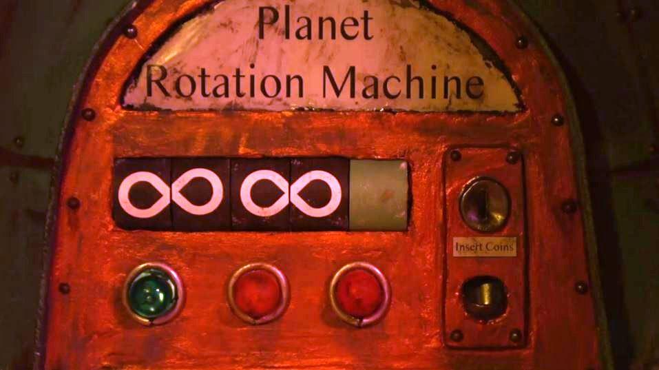 Planet Rotation Machine